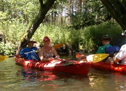 Turystyka kwalifikowana (spływy kajakowe)